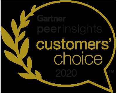 Gartner Peer Insights Customers' Choice 2020